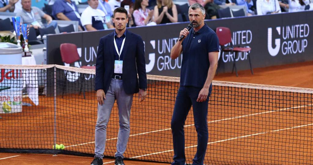 Djordje Djokovic & Goran Ivanisevic, Adria Tour, 2020