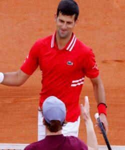 Novak Djokovic, Jannik Sinner