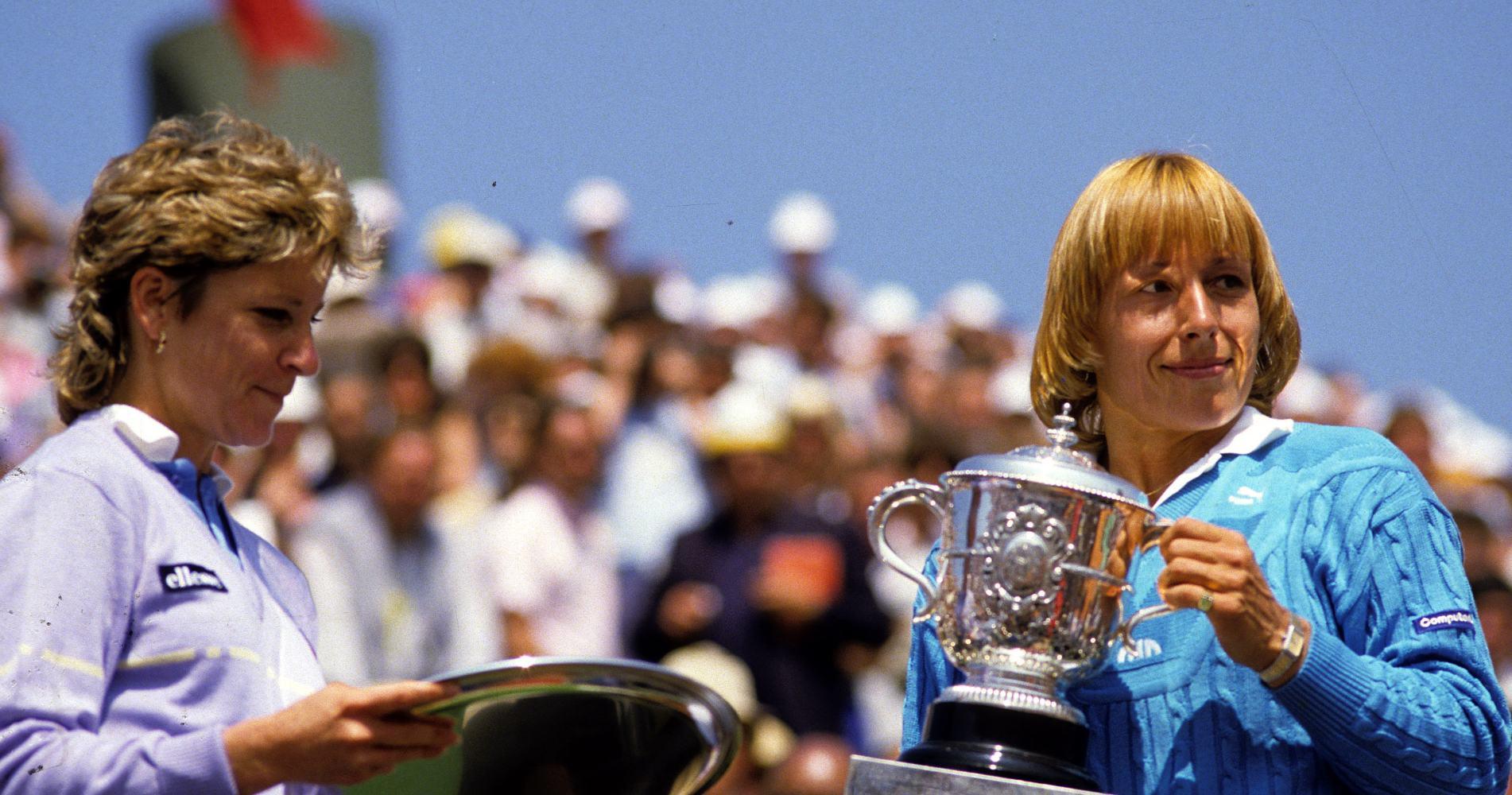Evert, Navratilova 1984 Roland-Garros