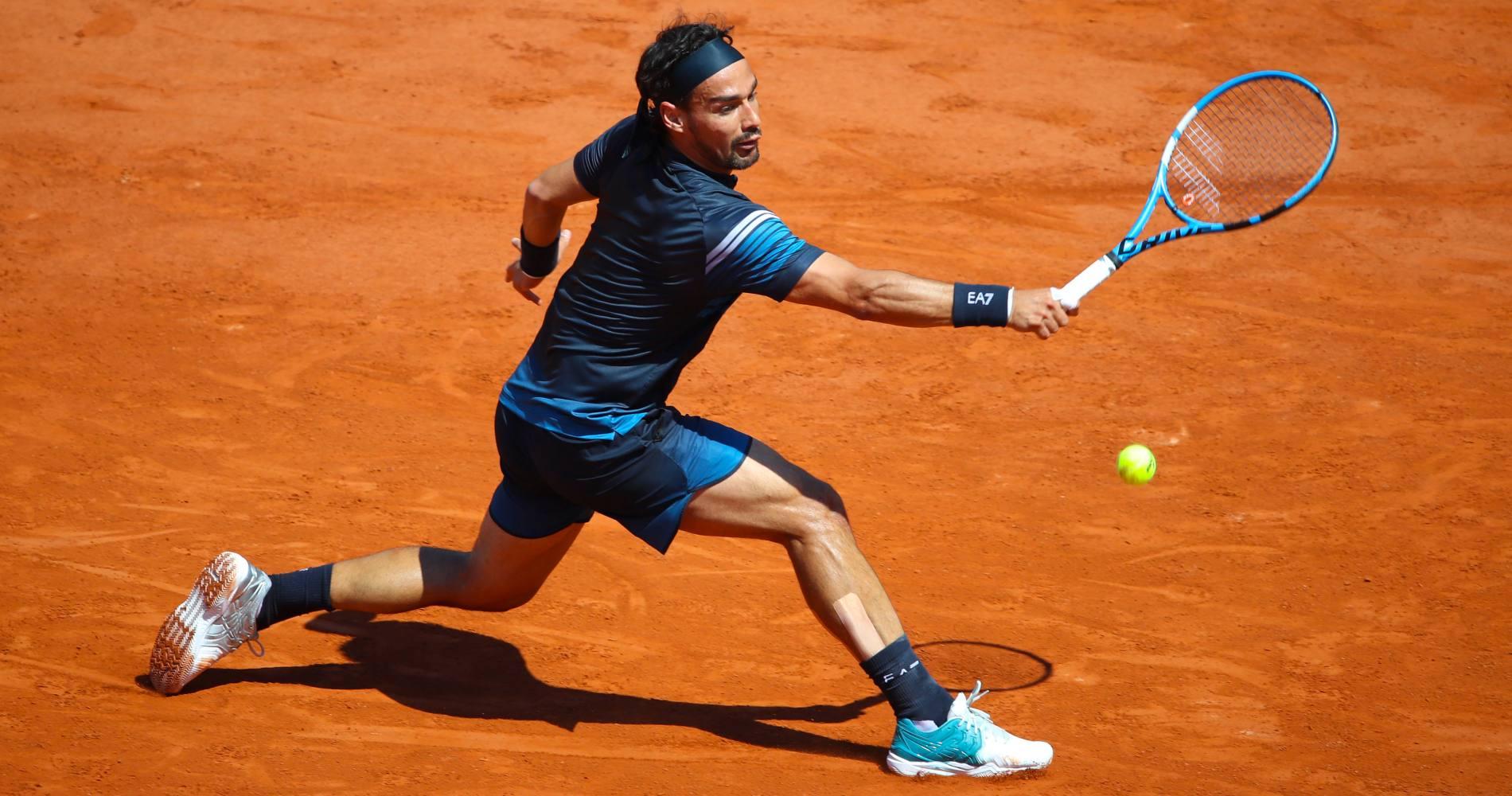 Fabio Fognini, Roland-Garros, 2020