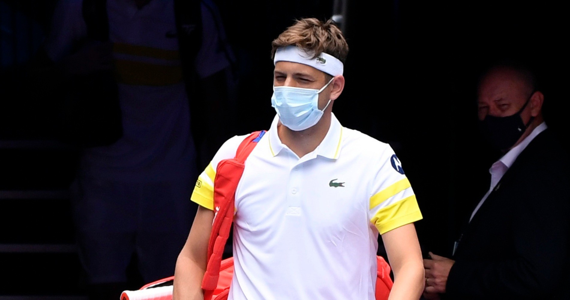 Filip Krajinovic, Australian Open, 2021