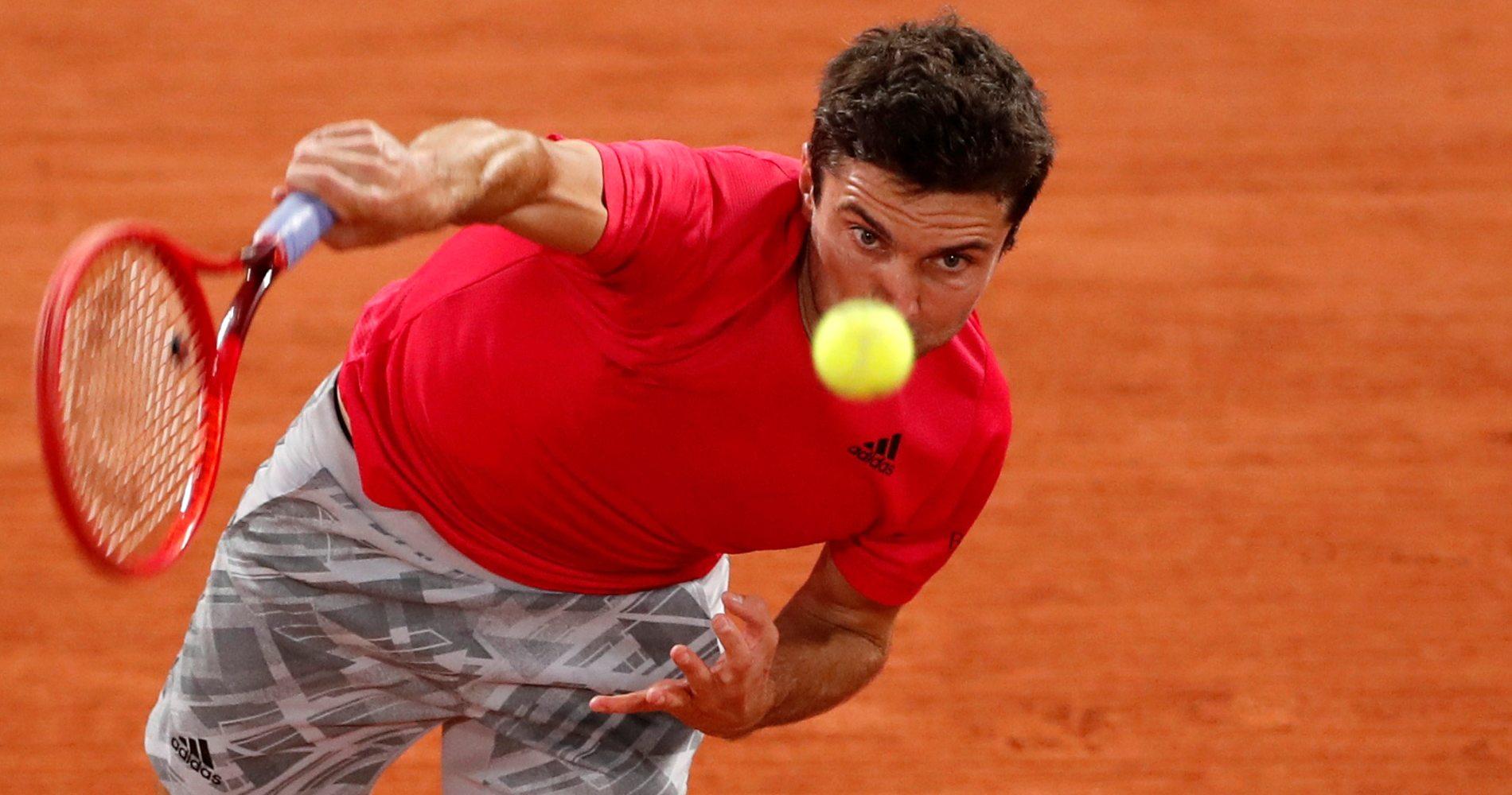 Gilles Simon, Roland-Garros, 2020