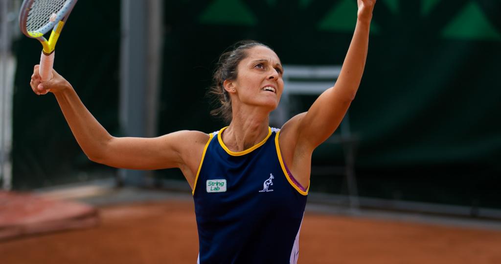 Giulia Gatto-Monticone, Roland-Garros, 2020