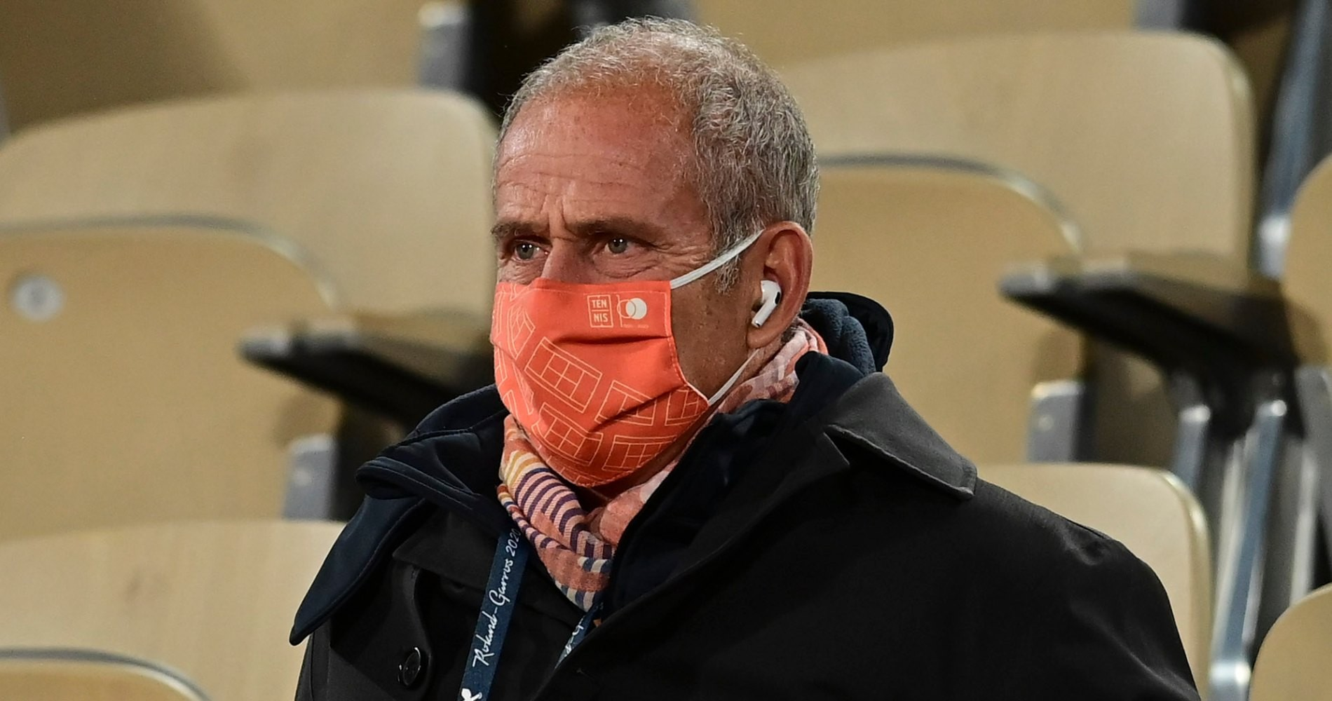 Guy Forget, Roland-Garros,