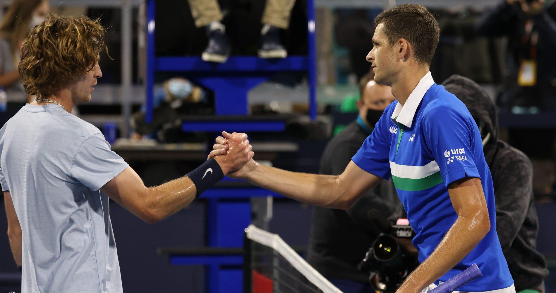 Andrey Rublev & Hubert Hurkacz, Miami, 2021