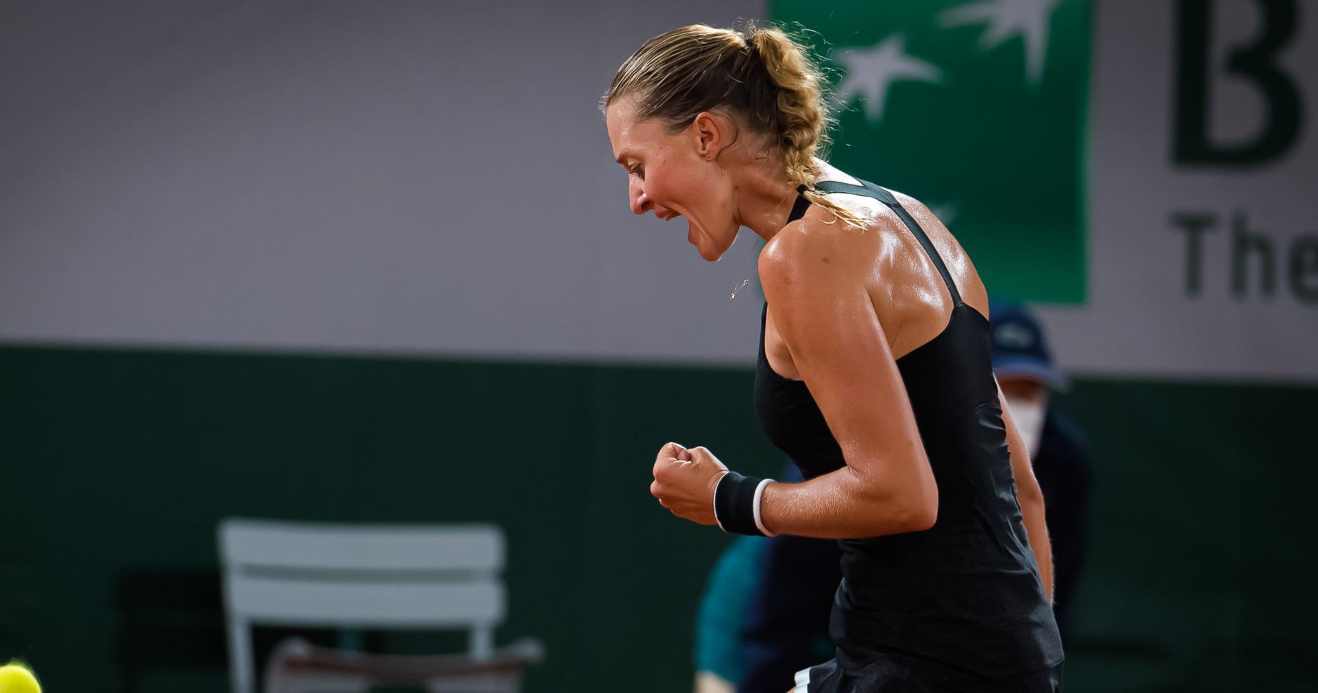 Kristina Mladenovic, Roland-Garros, 2020