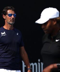 Patrick Mouratoglou et Serena Williams, Open d'Australie 2021