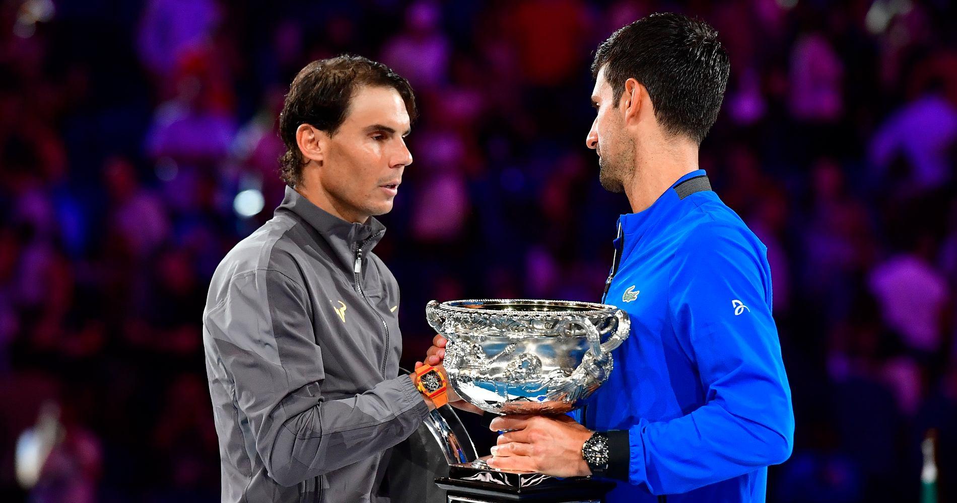Rafael Nadal & Novak Djokovic, Australian Open final, 2019