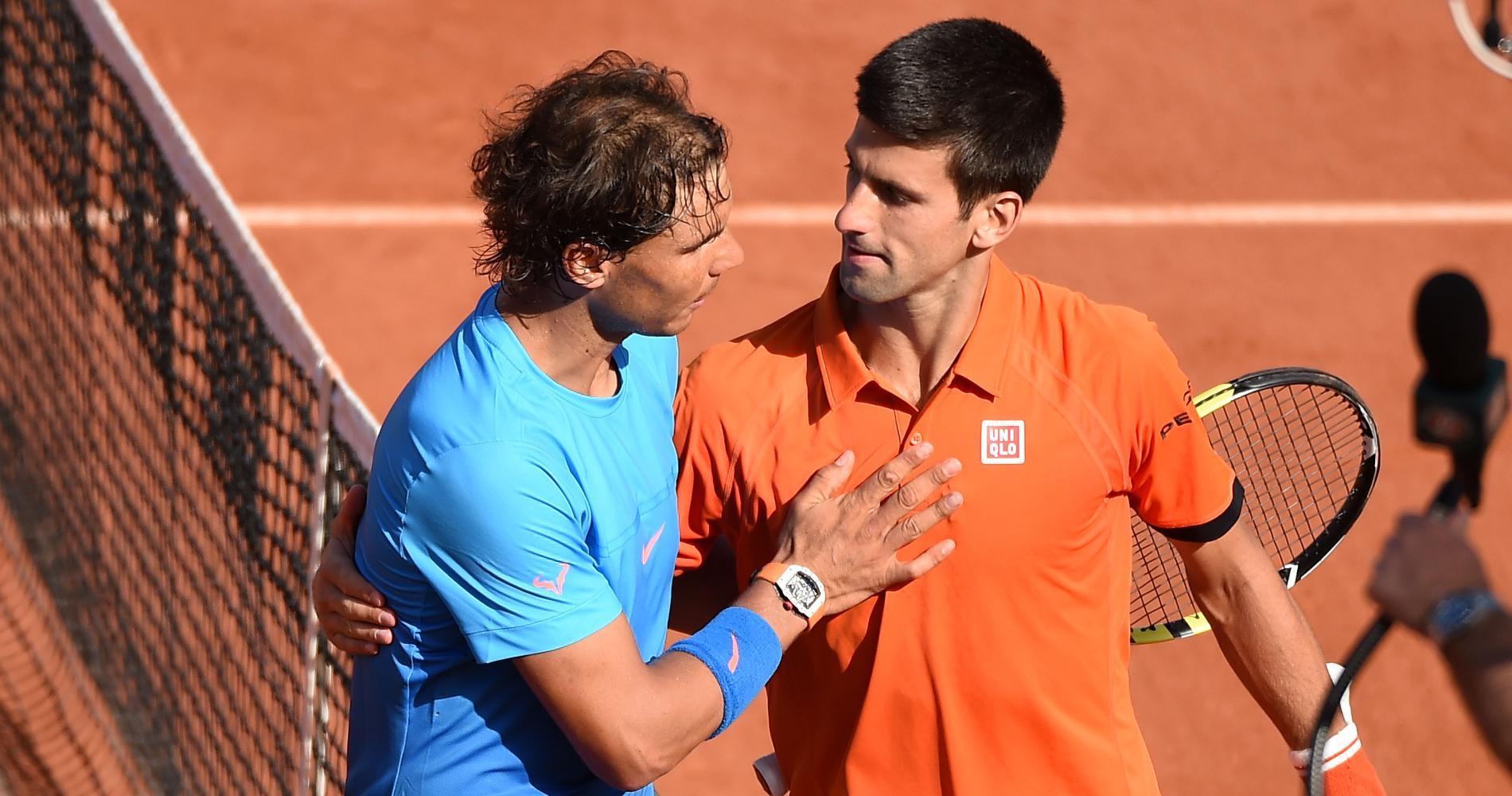 Rafael Nadal & Novak Djokovic, Roland-Garros, 2015