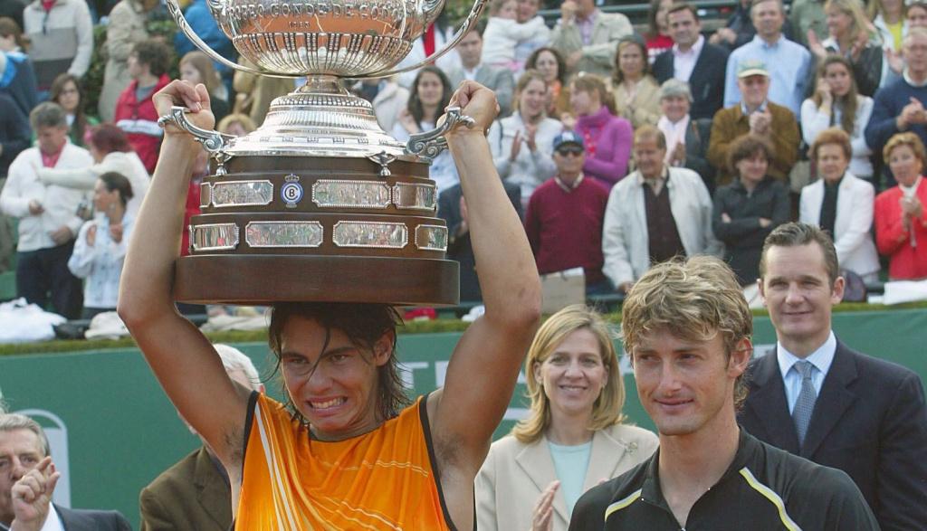 Nadal et Ferrero, Barcelone 2005