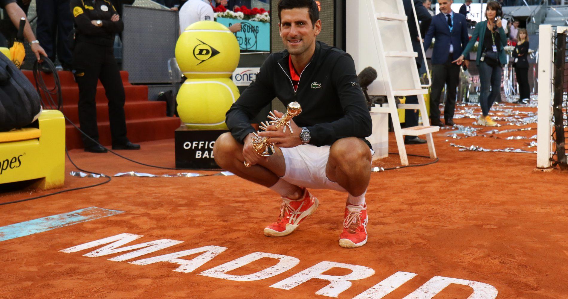 Novak Djokovic, Madrid 2019
