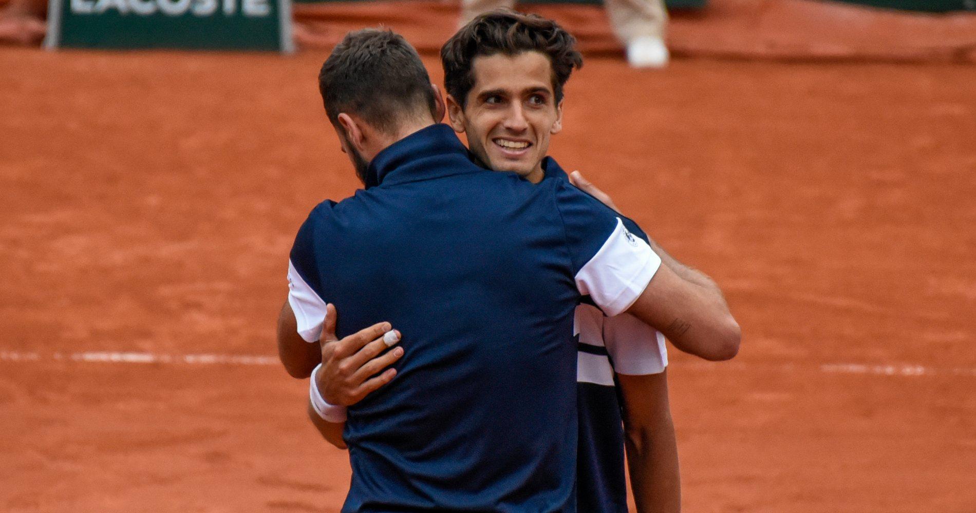 Benoît Paire & Pierre-Hugues Herbert, Roland-Garros, 2019