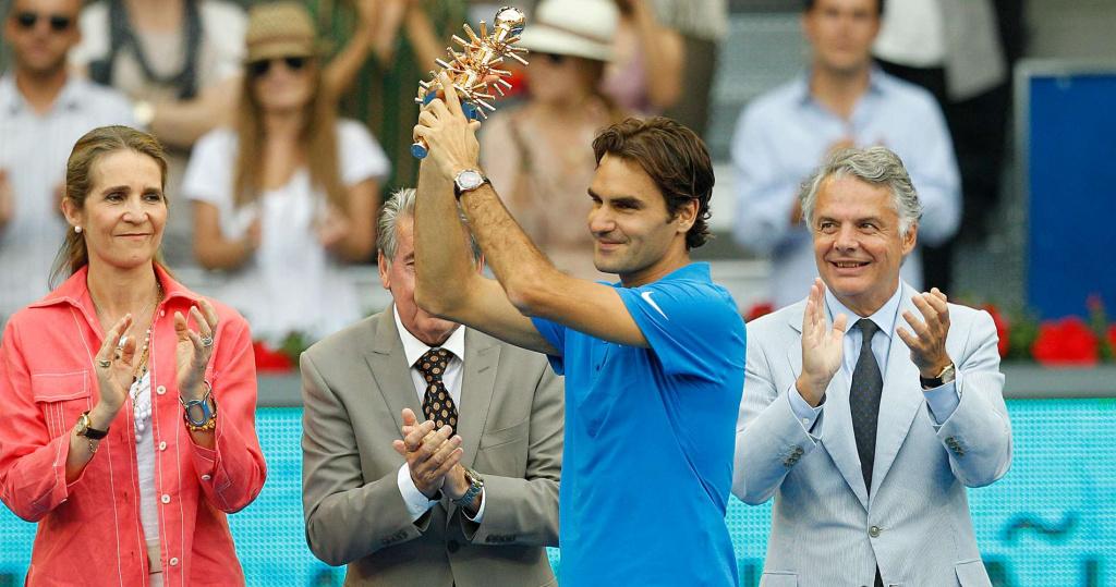 Roger Federer, Madrid, 2012