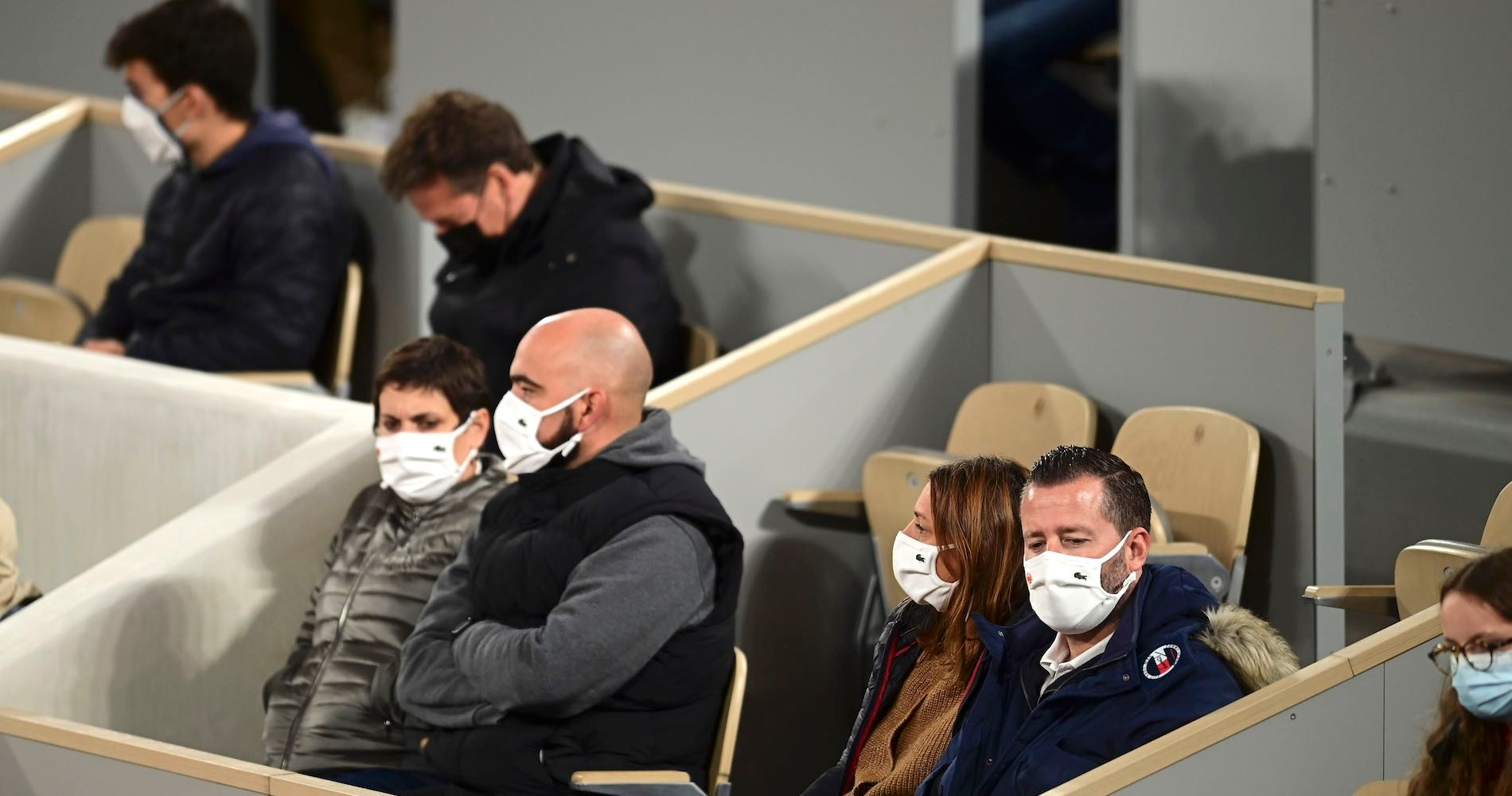 Roland-Garros 2020, audience