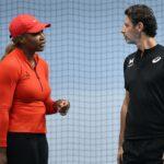 Serena Williams & Patrick Mouratoglou, Melbourne, 2021