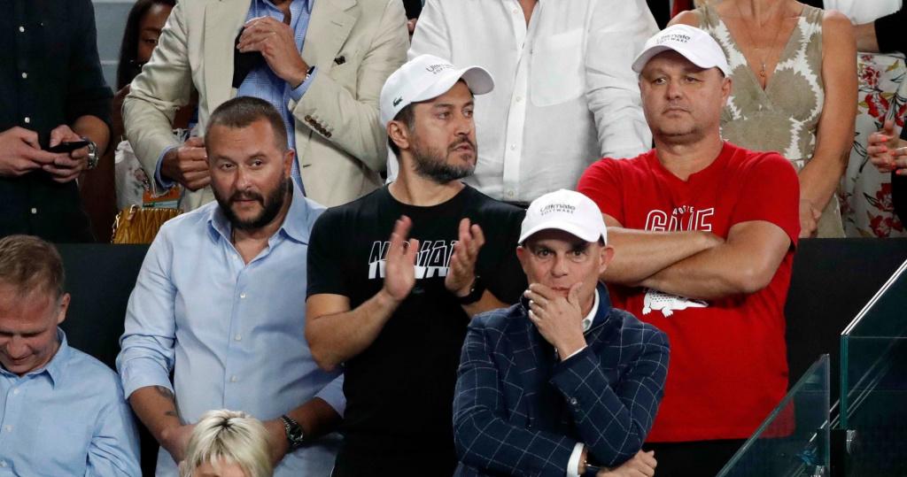 Novak Djokovic's team