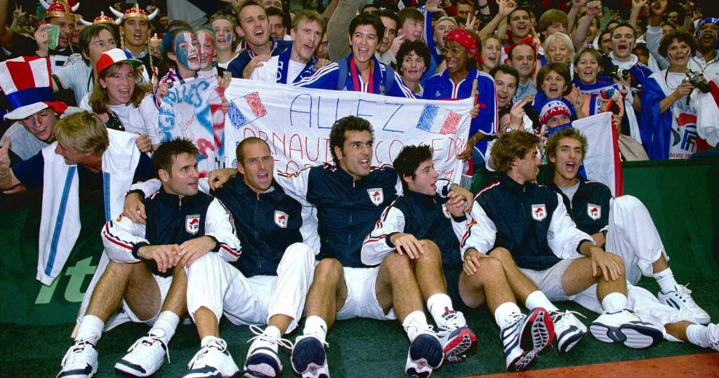 French Davis Cup Team
