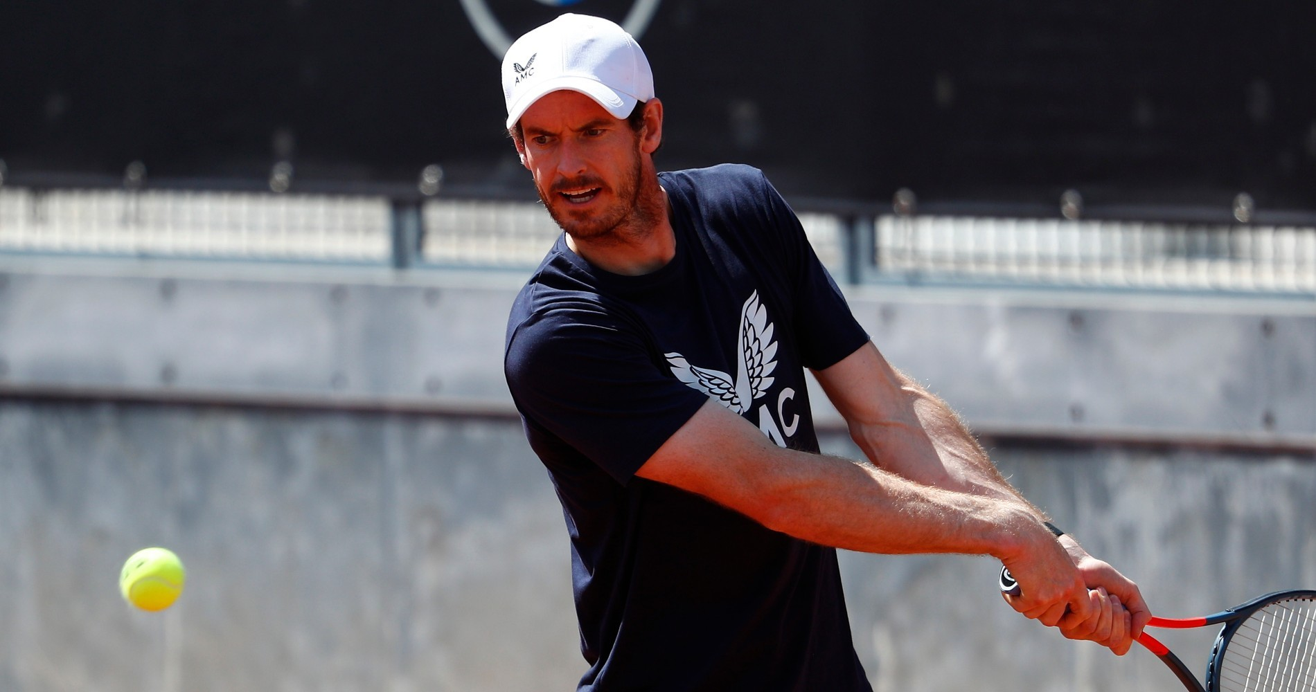 Andy Murray at Rome in 2021