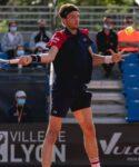 Arthur Rinderknech at Lyon in 2021