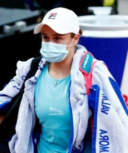 Ashleigh Barty in Rome