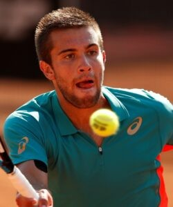 Borna Coric at Rome in 2020