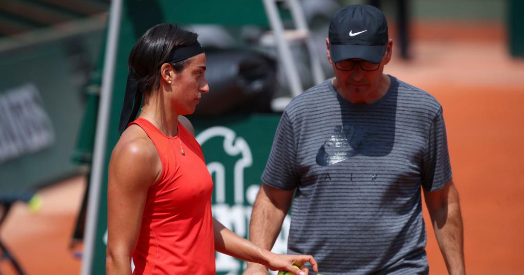 Caroline Garcia & Louis-Paul Garcia, Roland-Garros, 2018