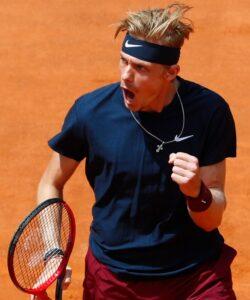 Denis Shapovalov at Rome in 2021
