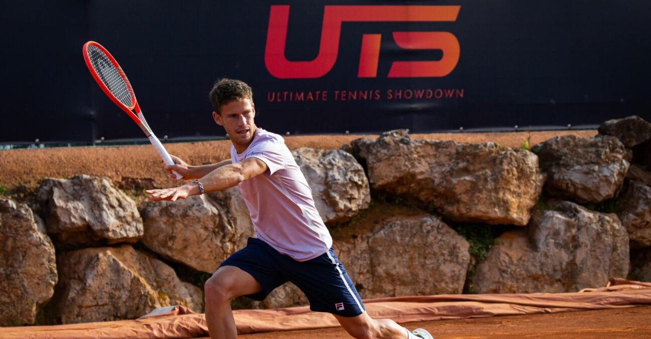 Diego Schwartzman at UTS in 2021