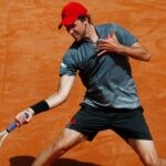 Dominic Thiem at Rome in 2021
