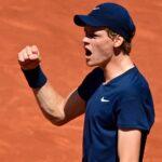 Jannik Sinner at Roland-Garros in 2021