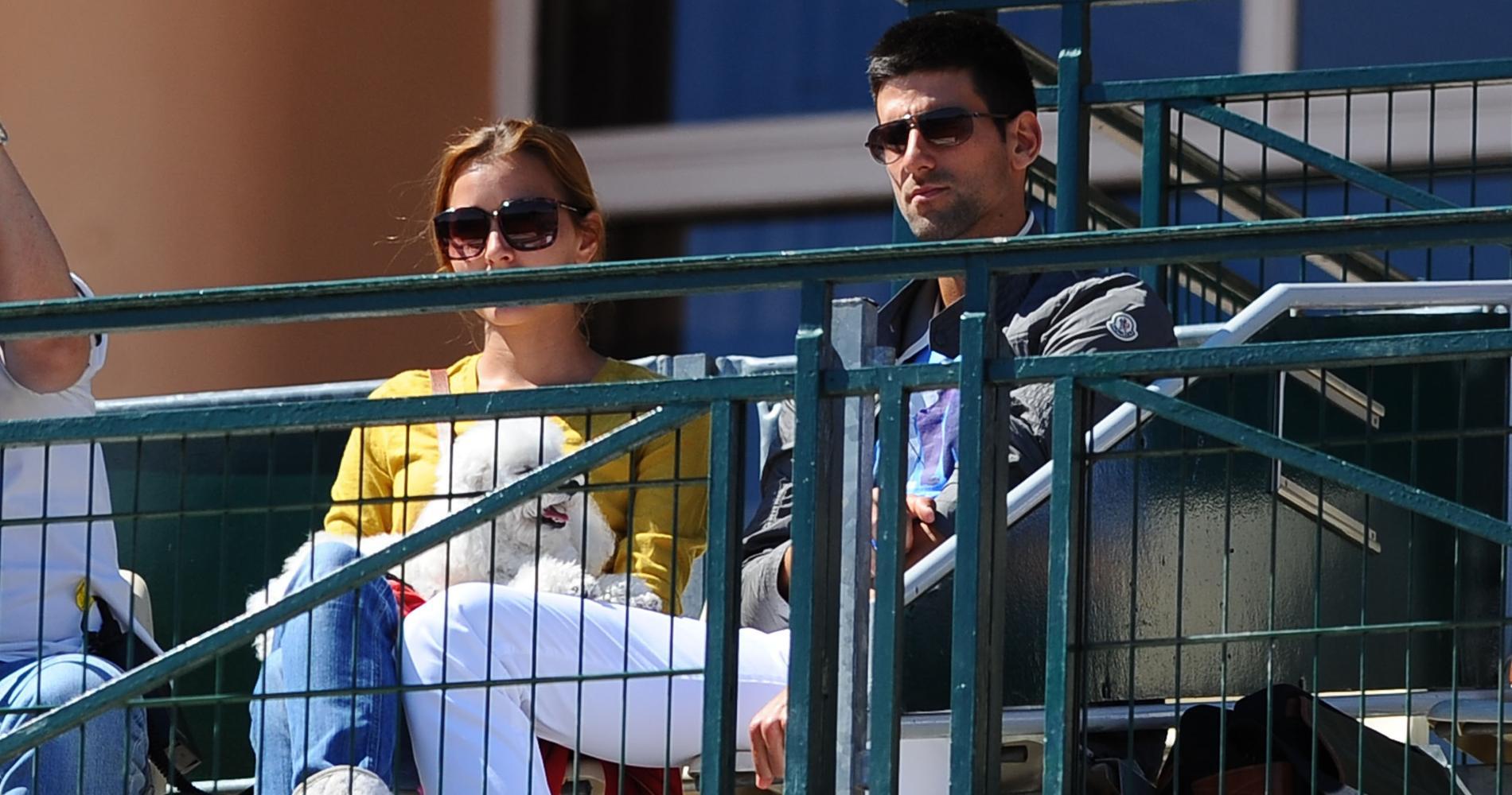 Jelena Djokovic & Novak Djokovic, Monte-Carlo
