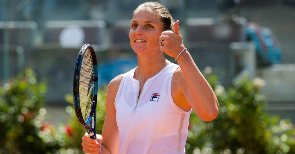 Karolina Pliskova at Rome in 2021
