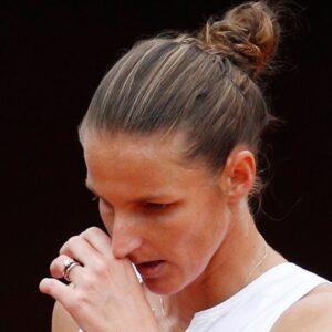 Karolina Pliskova in Rome