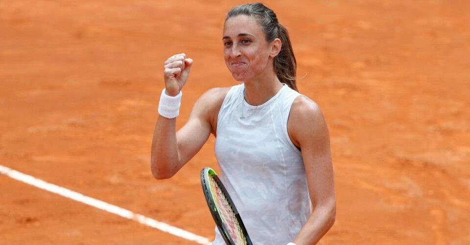 Petra Martic at Rome in 2021