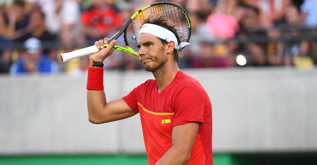 Rafael Nadal at the Rio Olympics in 2016