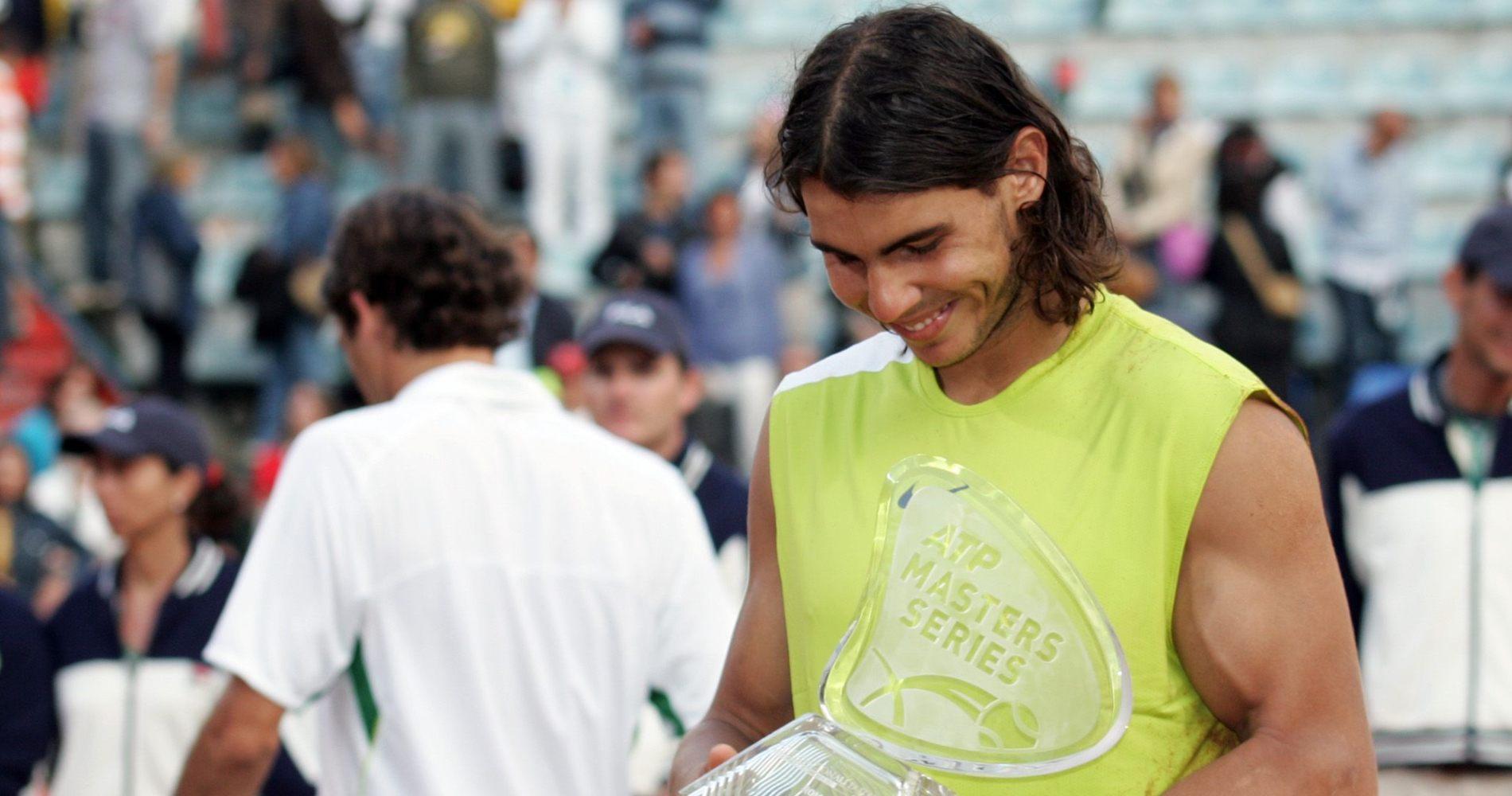 Rafael Nadal in Rome, 2006