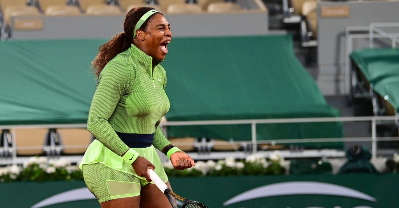 Serena Williams Roland Garros 2021 Panoramic