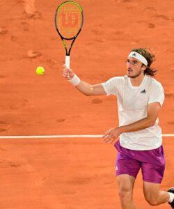 Tsitsipas at Roland-Garros 2021