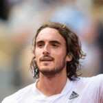 Tsitsipas at Roland-Garros 2021 Panoramic