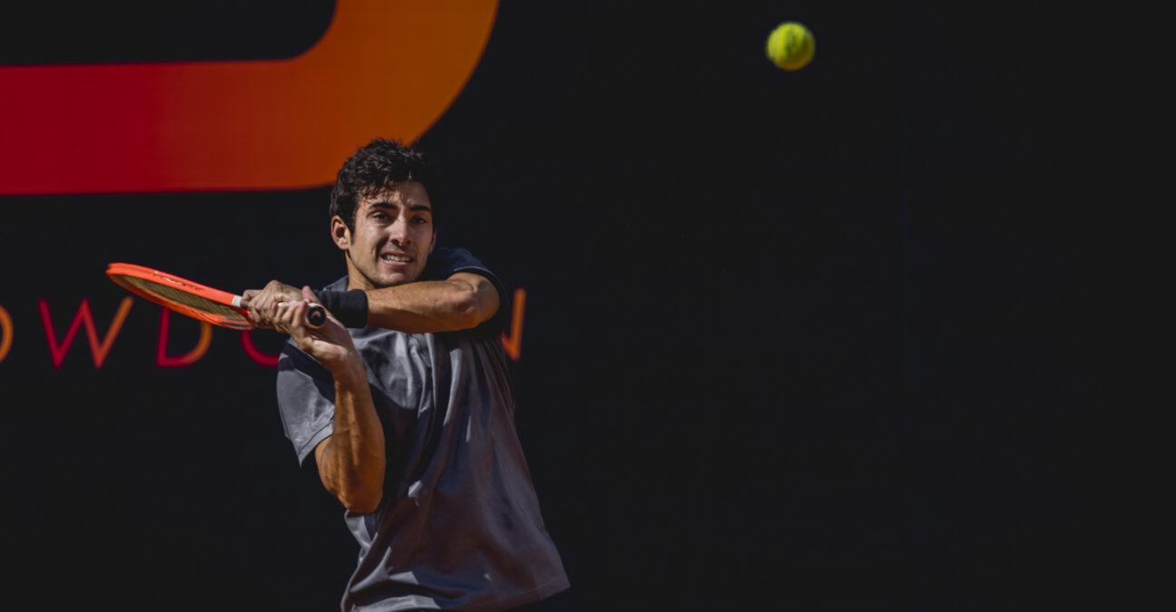 Cristian Garin at UTS 4