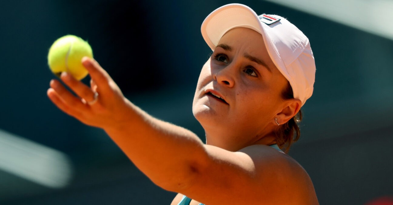 Ash Barty Madrid Open 2021