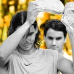 Rafael Nadal & Roger Federer after the Rome final in 2006 - On This Day
