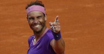 Rafael Nadal Rome 2021