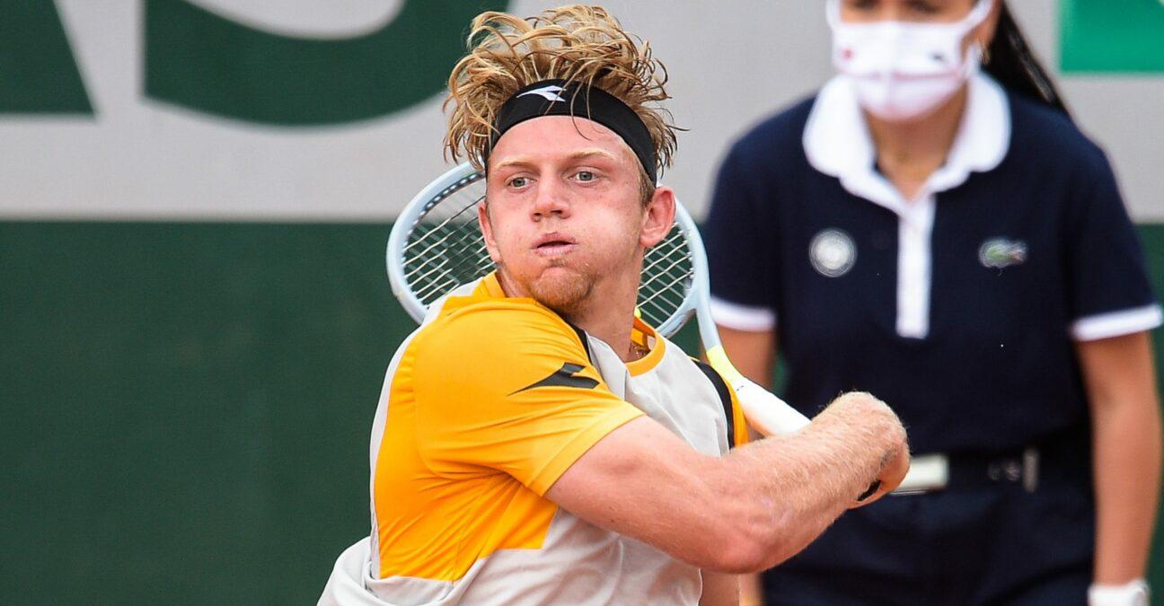 Alejandro Davidovich Fokina at Roland-Garros in 2021