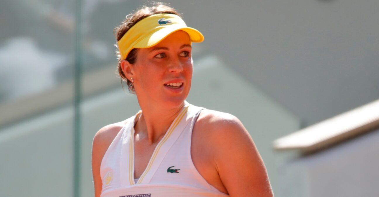 Anastasia Pavlyuchenkova at Roland-Garros in 2021