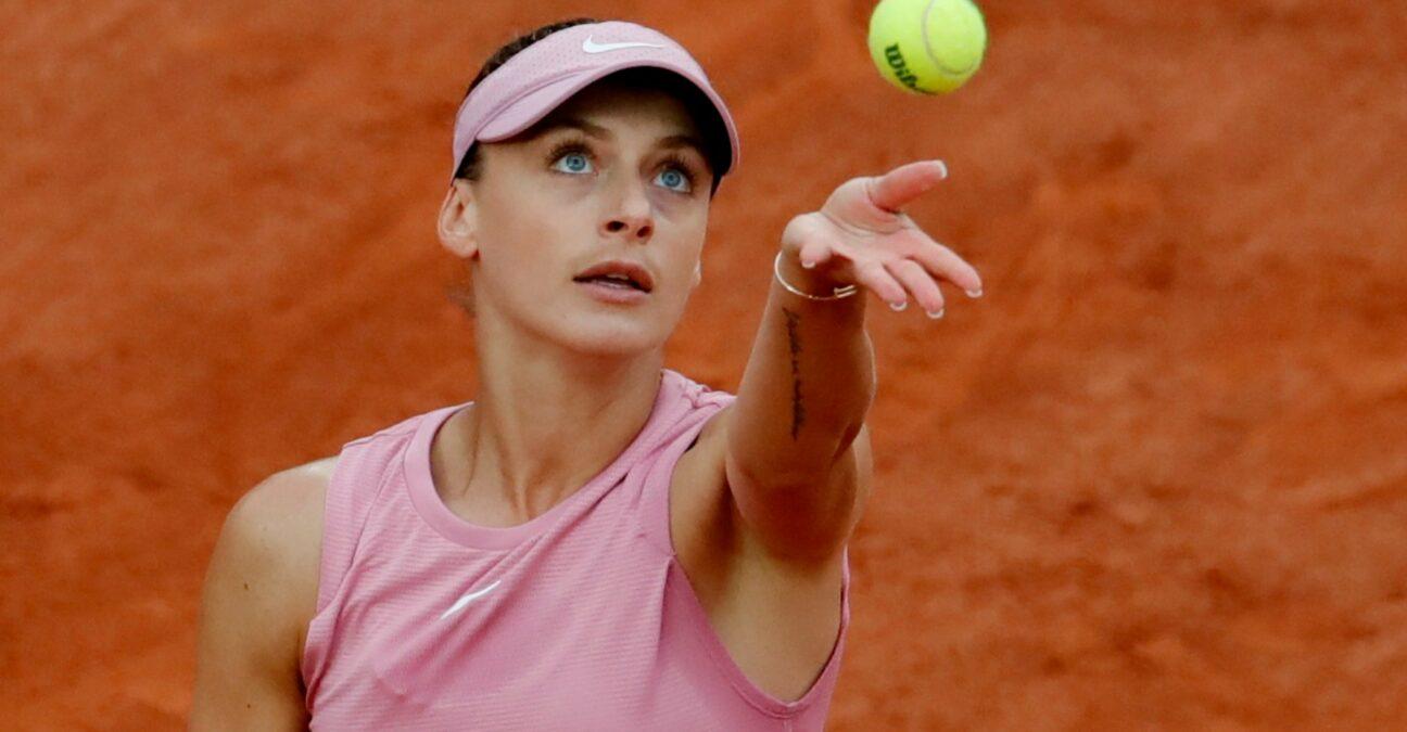 Ana Bogdan at Roland-Garros in 2021