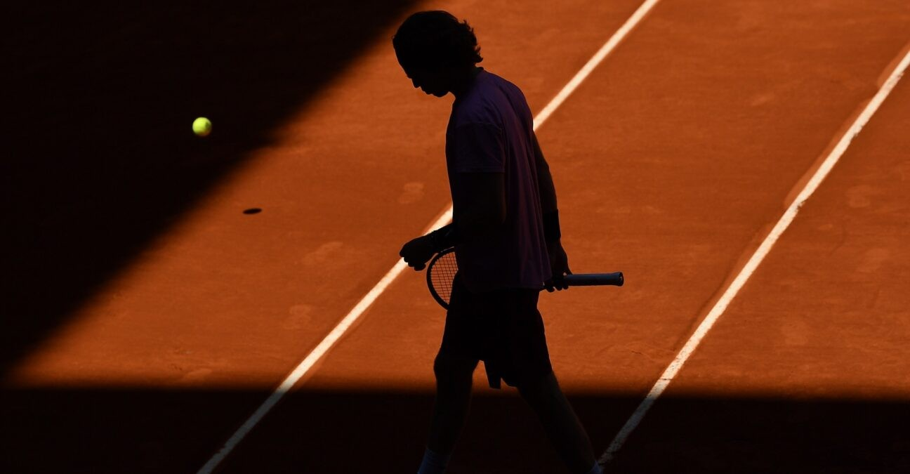 Andrey Rublev at Madrid in 2021