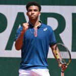 Arthur Fils at Roland-Garros in 2021