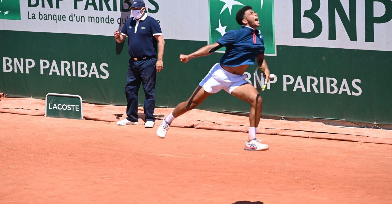 Arthur Fils Roland Garros 2021