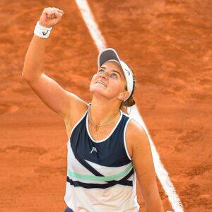 Barbora Krejcikova, Roland-Garros, singles